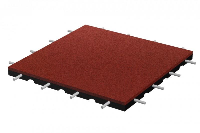 Fallschutzplatte 500x500x70 mm Inter-Play Spielplatzgeraete