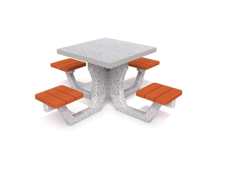 Concrete picnic table 01 Inter-Play Spielplatzgeraete
