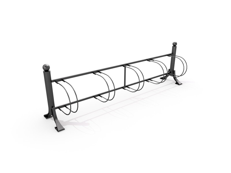 Inter-Play - Fahrradständer aus Gusseisen 01