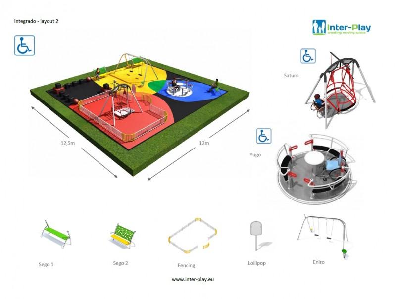 Inter-Play Spielplatzgeraete INTEGRADO layout 2