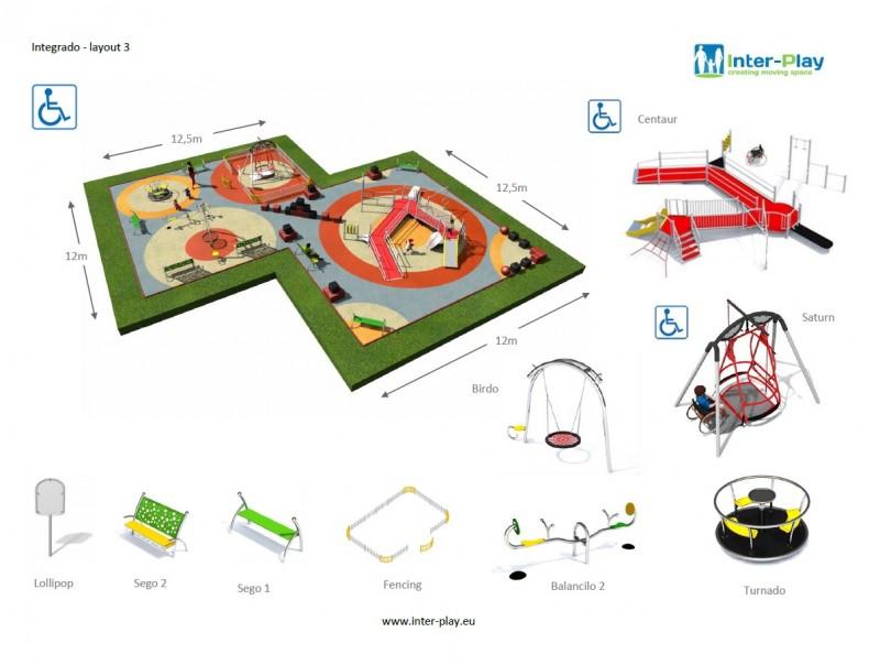 Inter-Play Spielplatzgeraete INTEGRADO layout 3