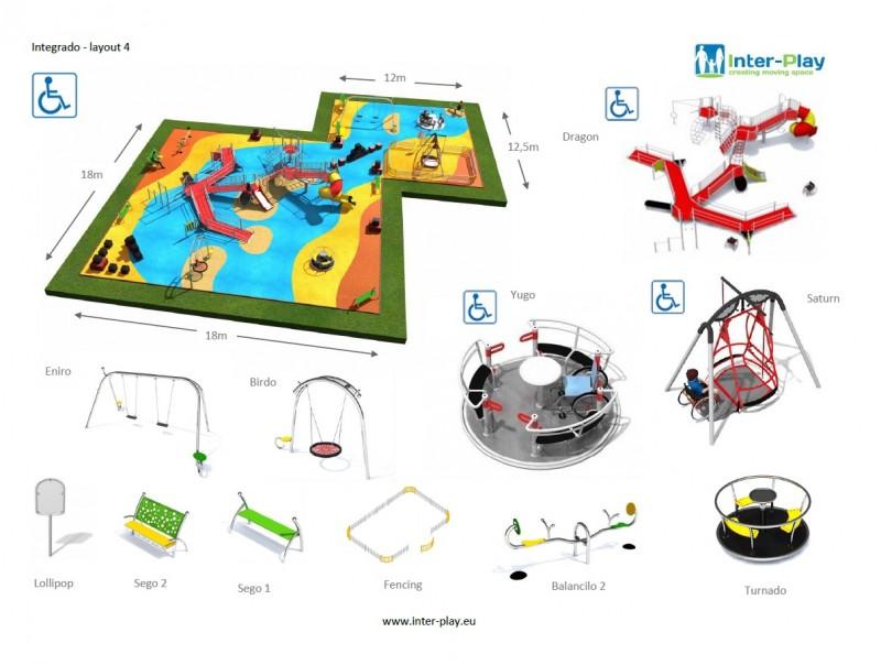 Inter-Play Spielplatzgeraete INTEGRADO layout 4