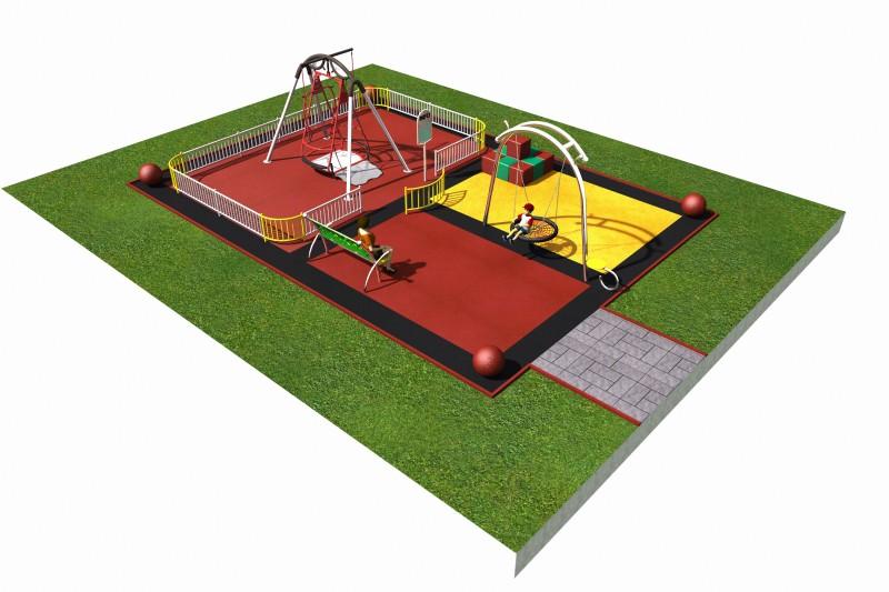 Inter-Play Spielplatzgeraete INTEGRADO layout 1