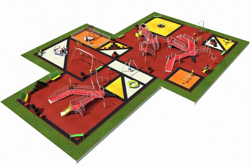 Inter-Play Spielplatzgeraete INTEGRADO layout 5