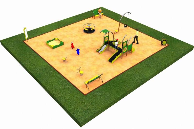 Inter-Play Spielplatzgeraete LIMAKO for toddlers layout 2
