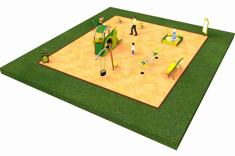 Inter-Play Spielplatzgeraete LIMAKO for toddlers layout 3