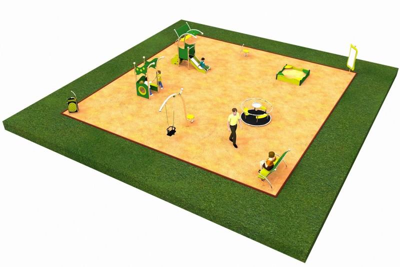 Inter-Play Spielplatzgeraete LIMAKO for toddlers layout 4