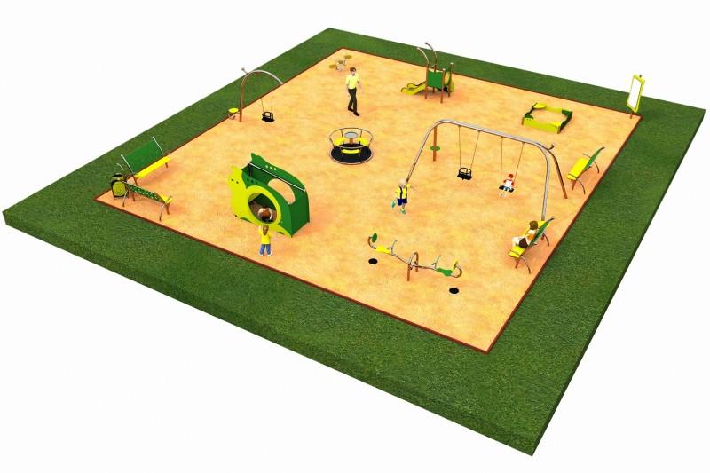 Inter-Play Spielplatzgeraete LIMAKO for toddlers layout 5