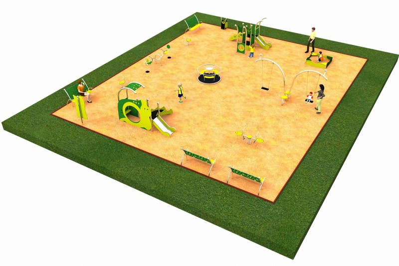 Inter-Play Spielplatzgeraete LIMAKO for toddlers layout 6