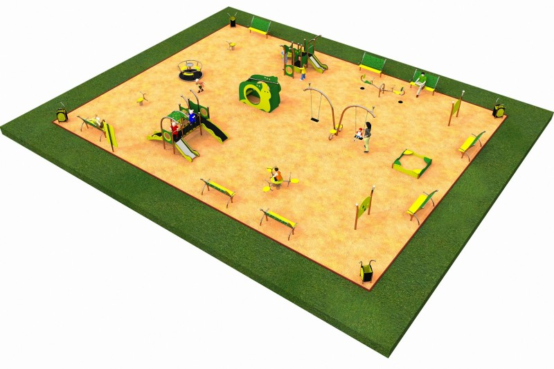 Inter-Play Spielplatzgeraete LIMAKO for toddlers layout 7