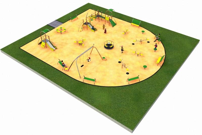 Inter-Play Spielplatzgeraete LIMAKO for kids layout 3