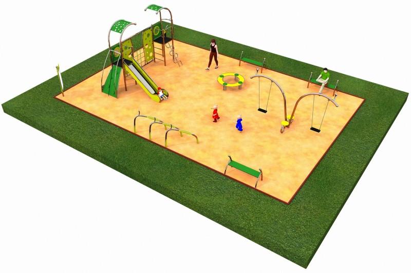 Inter-Play Spielplatzgeraete LIMAKO for teenagers layout 1