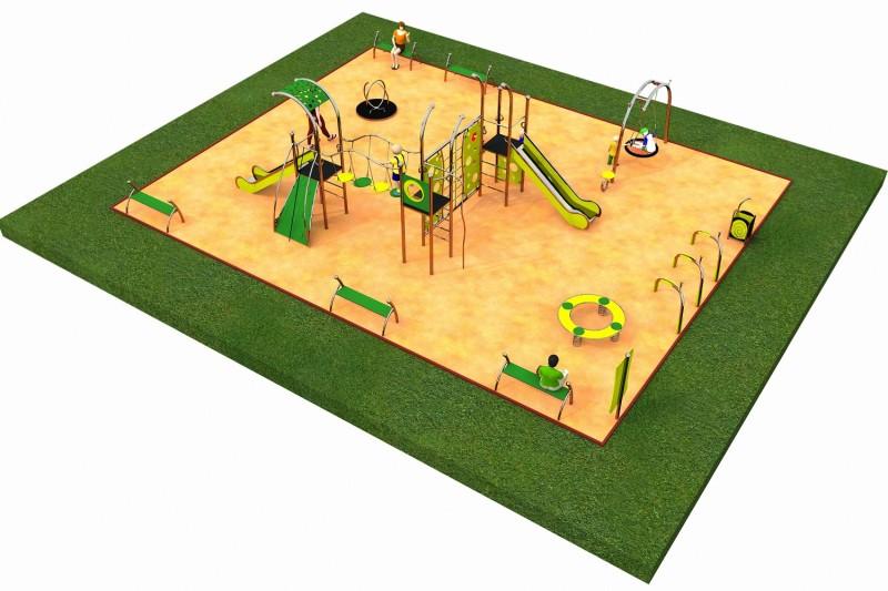 Inter-Play Spielplatzgeraete LIMAKO for teenagers layout 2