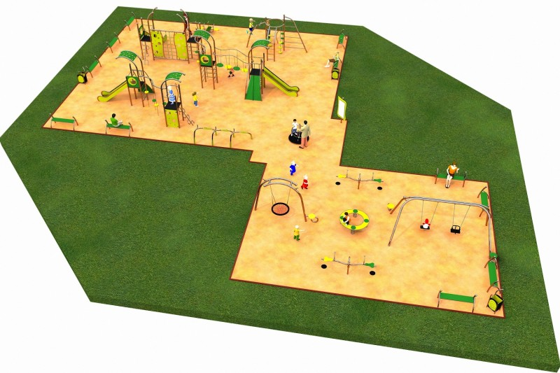 Inter-Play Spielplatzgeraete LIMAKO for teenagers layout 6