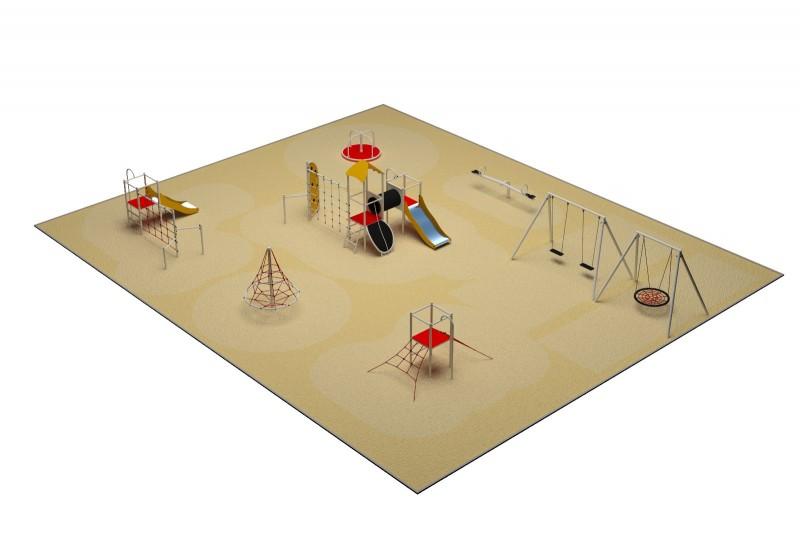 Inter-Play Spielplatzgeraete PARK layout 9