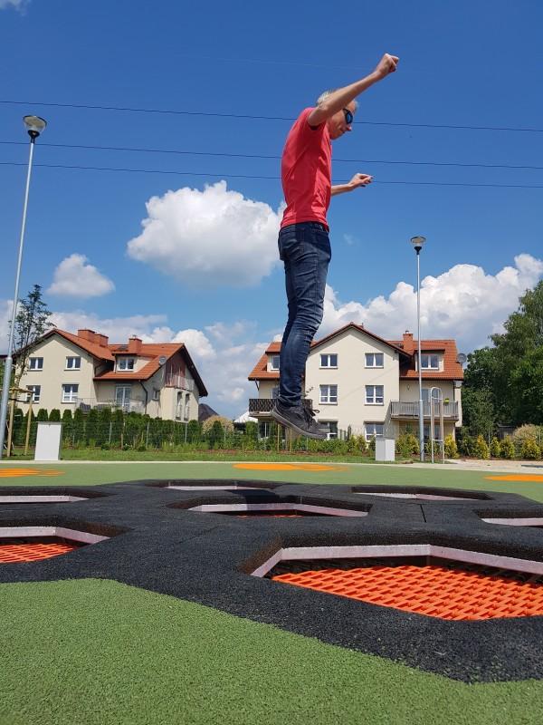 Inter-Play Spielplatzgeraete Trampoline Hexo 7A