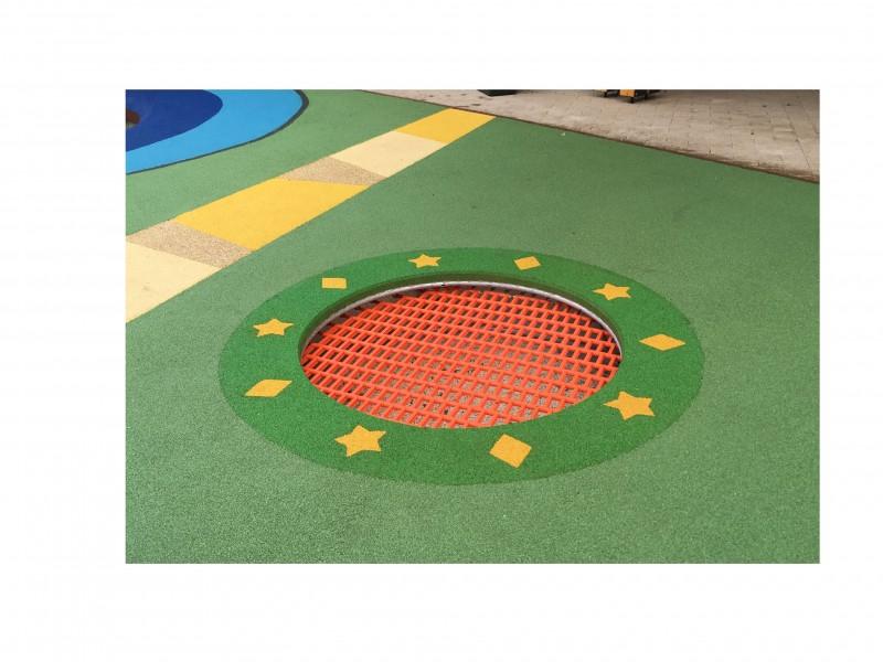 Inter-Play Spielplatzgeraete Trampolin Rado 140