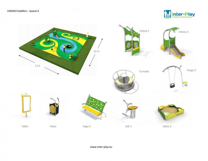 LIMAKO for toddlers layout 4 Inter-Play Spielplatzgeraete Park