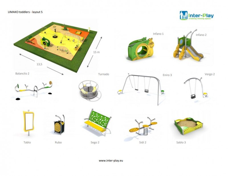 LIMAKO for toddlers layout 5 Inter-Play Spielplatzgeraete Park