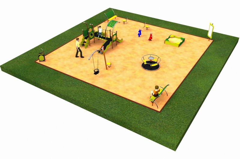 LIMAKO for toddlers layout 2 Inter-Play Spielplatzgeraete Park
