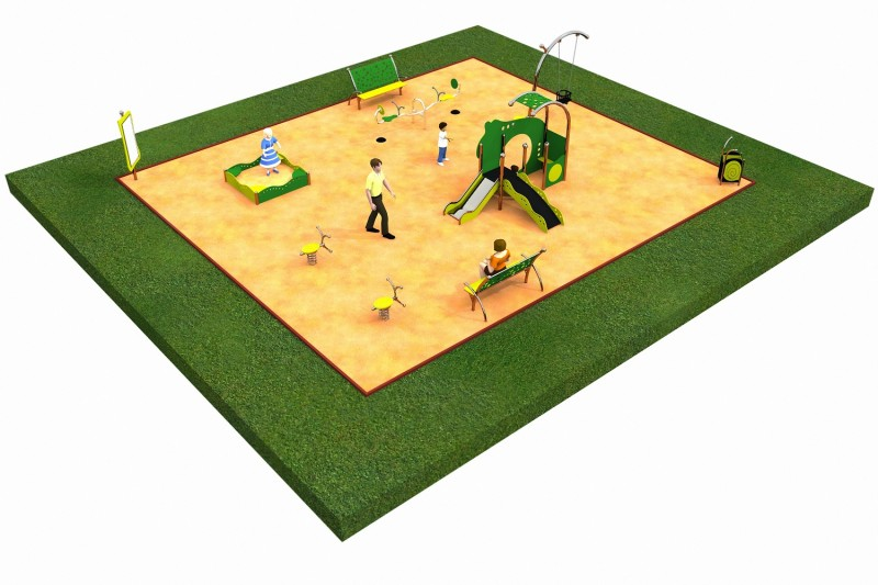 LIMAKO for toddlers layout 3 Inter-Play Spielplatzgeraete Park