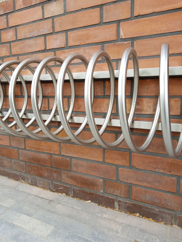 Fahrradständer aus Edelstahl 13 Inter-Play Spielplatzgeraete Park