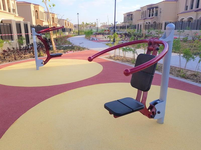 Shoulder Press Inter-Play Spielplatzgeraete Park