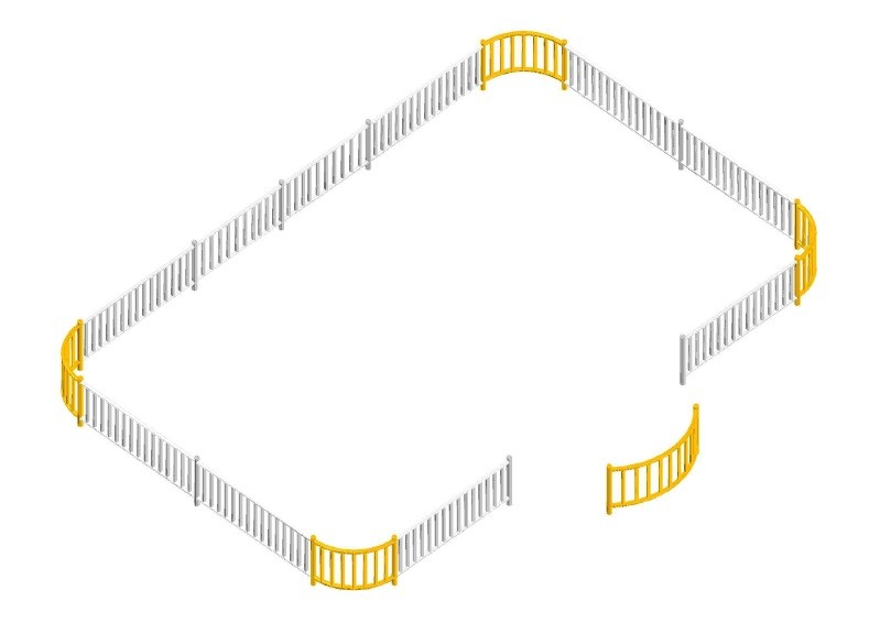Inter-Play - ZAUN für Saturnschaukel