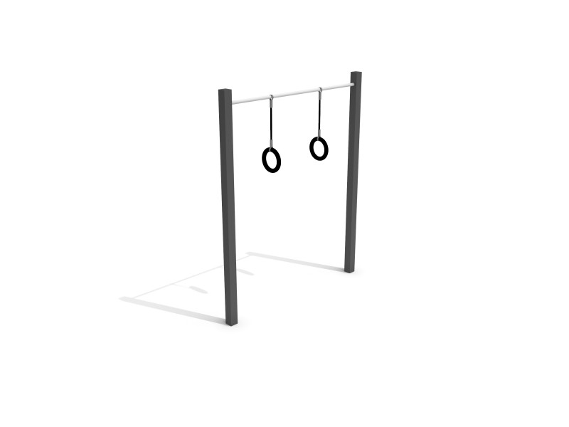 Calisthenics Ringe Inter-Play Spielplatzgeraete
