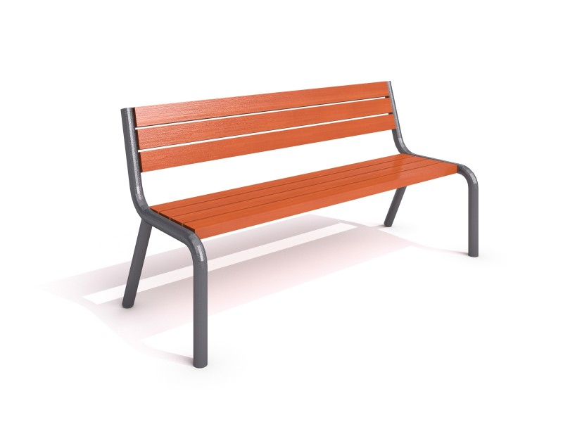 steel bench 12 Inter-Play Spielplatzgeraete