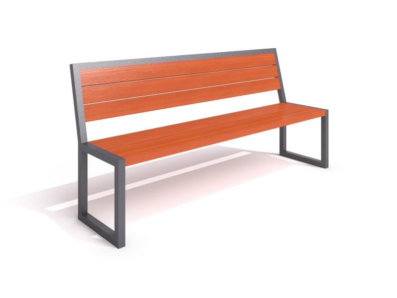 steel bench 14 Inter-Play Spielplatzgeraete