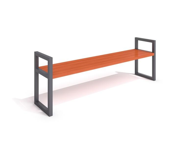 Sitzbank aus Stahl 15 Inter-Play Spielplatzgeraete