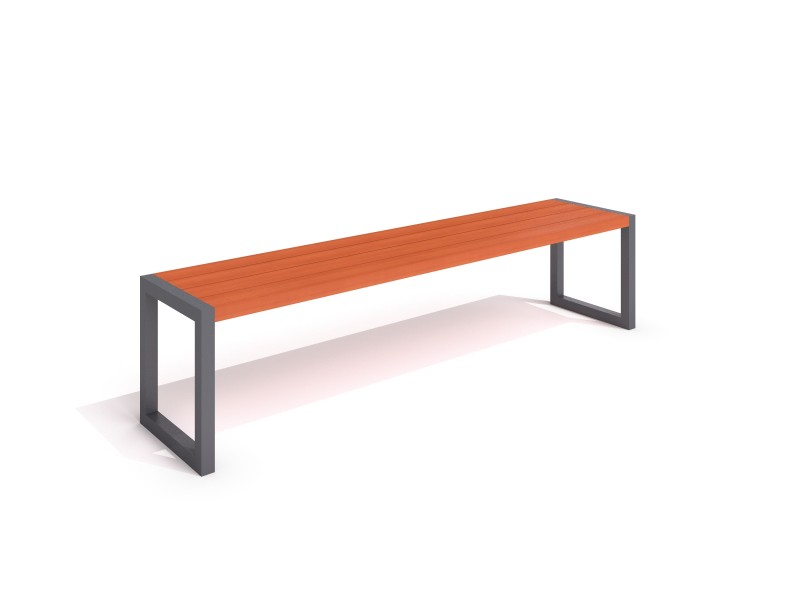 steel bench 16 Inter-Play Spielplatzgeraete