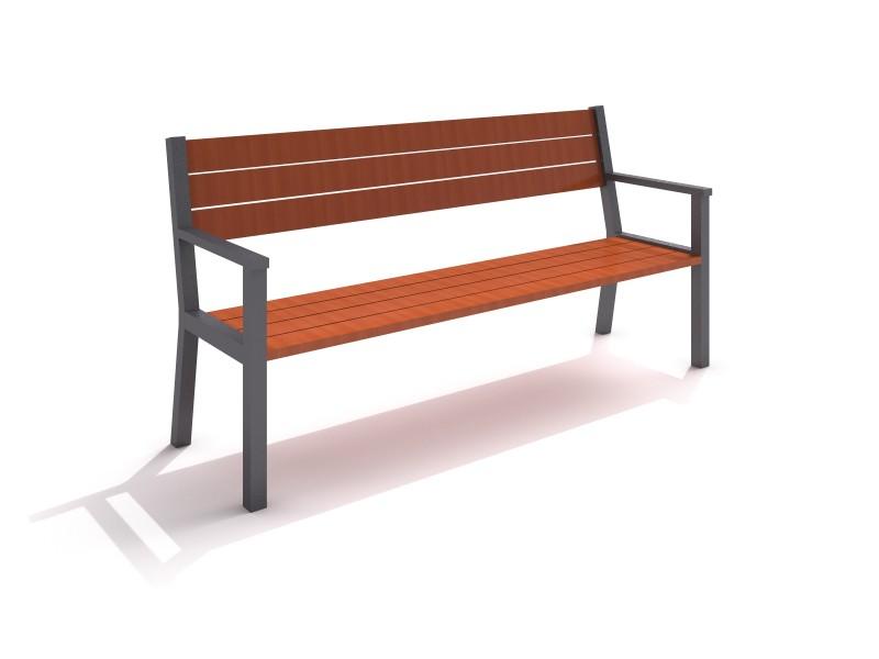 steel bench 17 Inter-Play Spielplatzgeraete