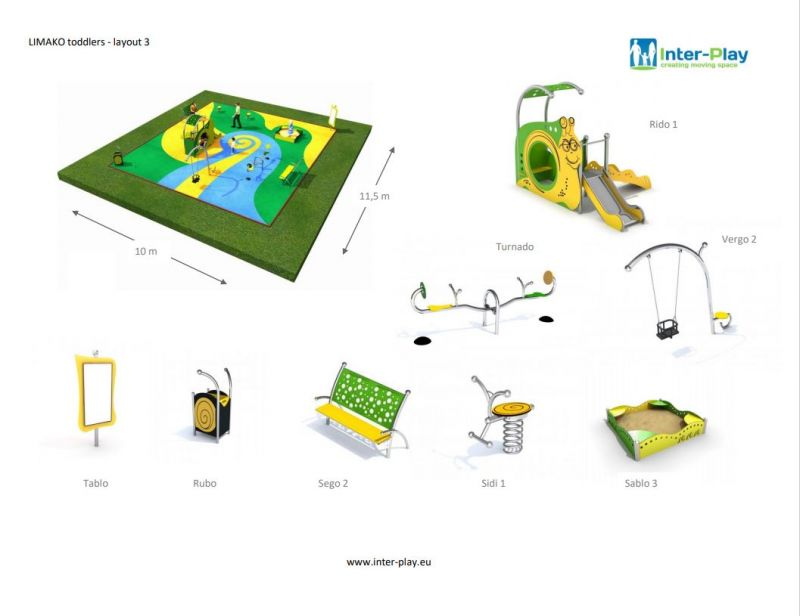 Inter-Play Playground Equipment
