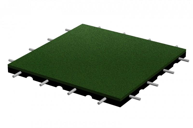 Fallschutzplatte 500x500x35 mm Inter-Play Spielplatzgeraete