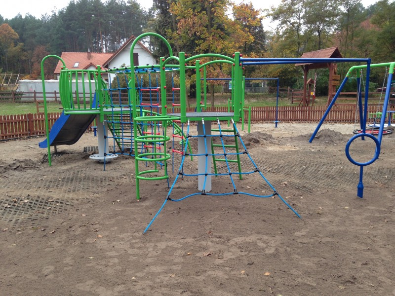 Inter-Play SpielplatzgeraeteAndromeda - climbing frame