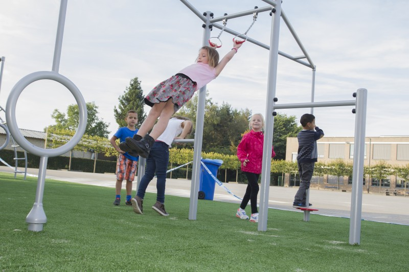Inter-Play SpielplatzgeraeteCetus device - climbing frame with rotating elements