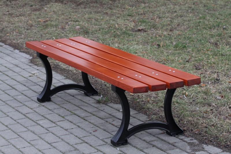 Cast-iron bench 05 Inter-Play Spielplatzgeraete