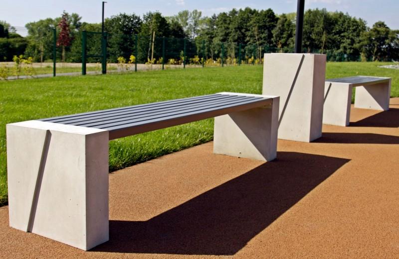 DECO-Beton Sitzbank  10 Inter-Play Spielplatzgeraete