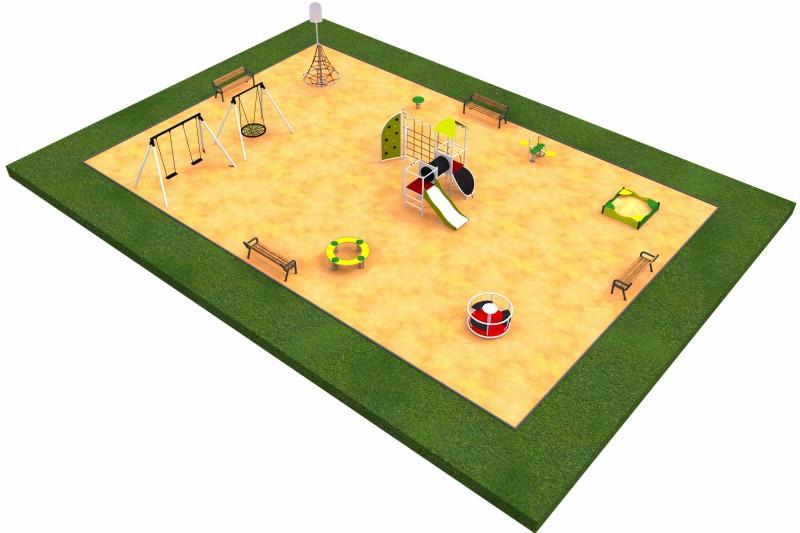 MIX layout  8 Inter-Play Spielplatzgeraete