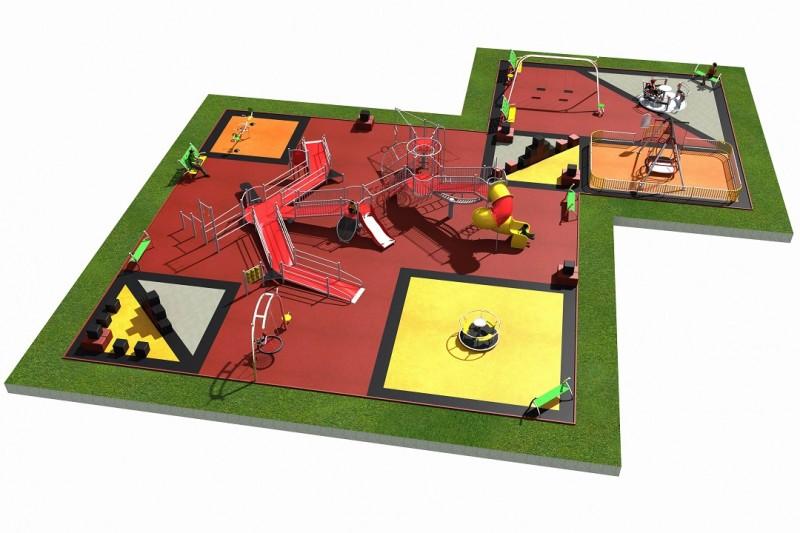 INTEGRADO layout 4 Inter-Play Spielplatzgeraete