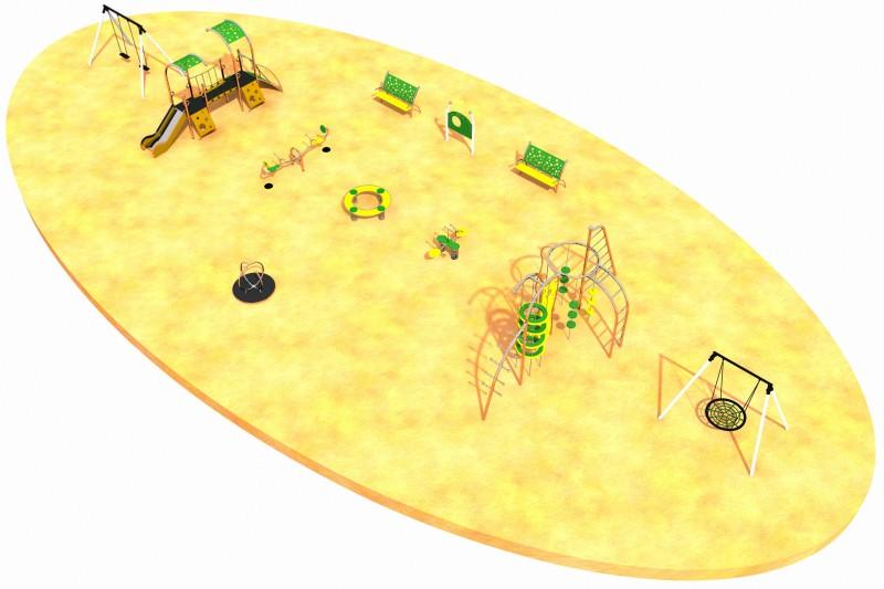 MIX layout 5 Inter-Play Spielplatzgeraete