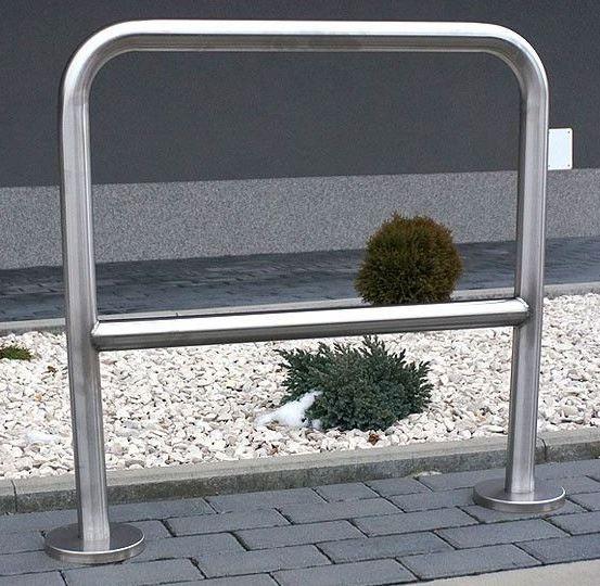 Fahrradständer aus Edelstahl 04 Inter-Play Spielplatzgeraete