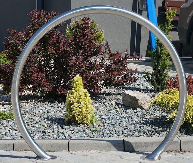 Fahrradständer aus Edelstahl 07 Inter-Play Spielplatzgeraete