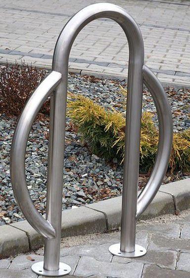 Fahrradständer aus Edelstahl 08 Inter-Play Spielplatzgeraete