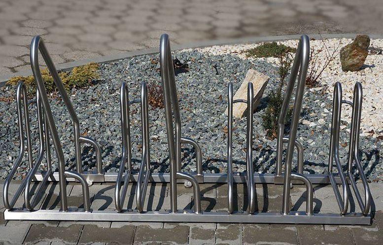 Fahrradständer aus Edelstahl 15 Inter-Play Spielplatzgeraete