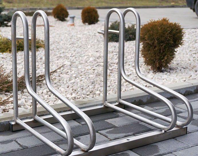 Fahrradständer aus Edelstahl 18 Inter-Play Spielplatzgeraete