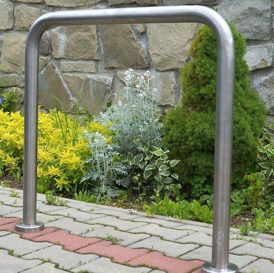 Fahrradständer aus Edelstahl 22 Inter-Play Spielplatzgeraete
