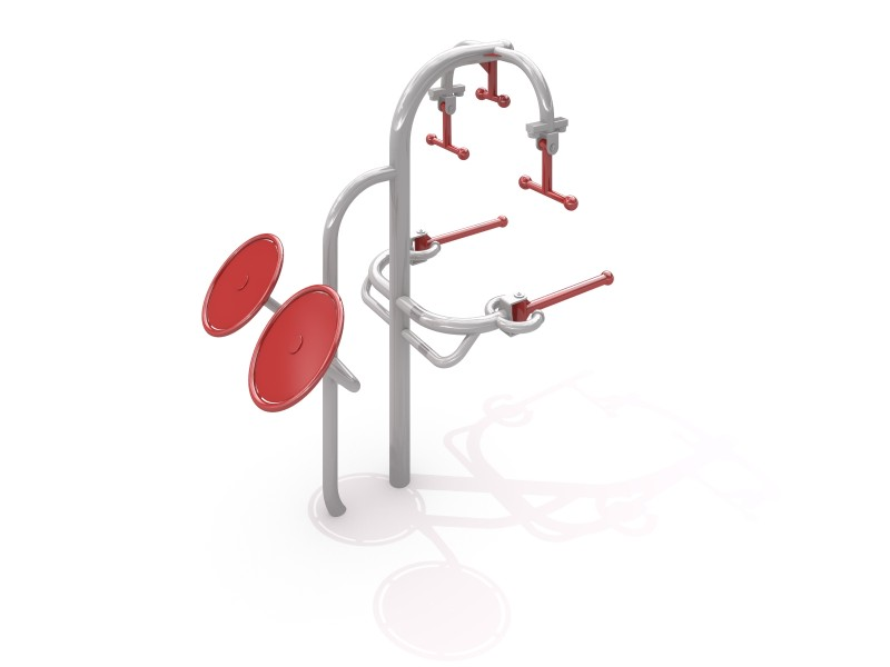 Tai Chi + Handrails Inter-Play Spielplatzgeraete